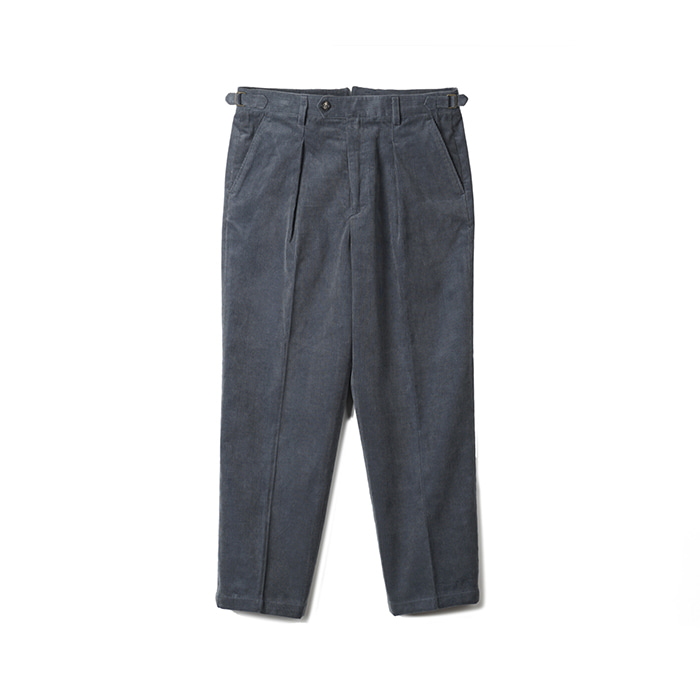 TJA Corduroy One Tuck Pants - Blue