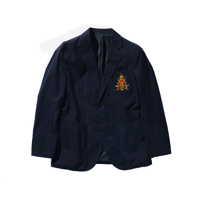 Rowingclub Sports Jacket - Navy