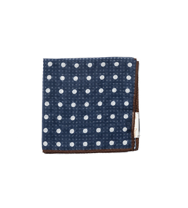 Squares01 - Navy Dot Pattern