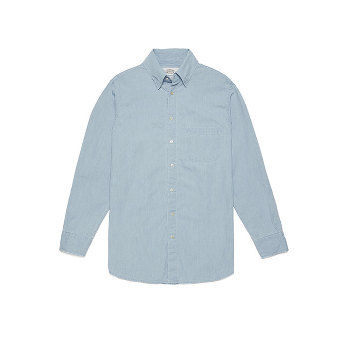 Denim Shirts - Light Blue