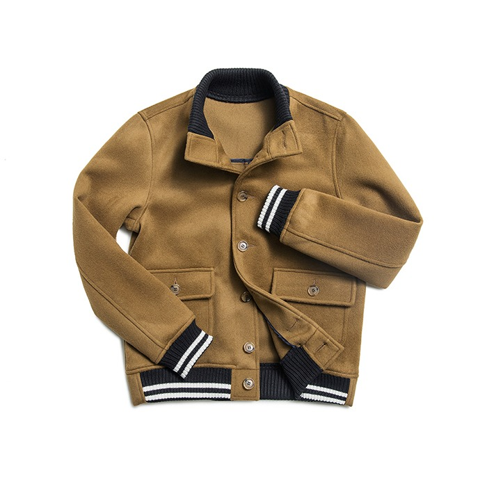 Wool A-1 Jacket - Camel