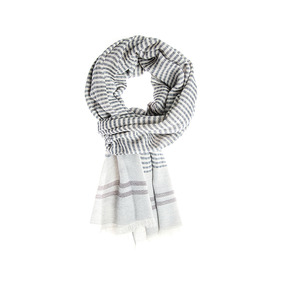 Albeni Cotton Scarf - Black