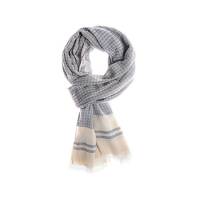 Albeni Cotton Scarf - Brown